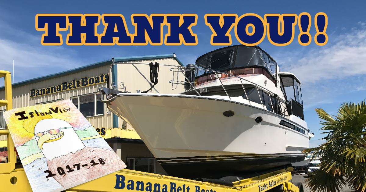 Image for Thank you to BananaBelt Boats