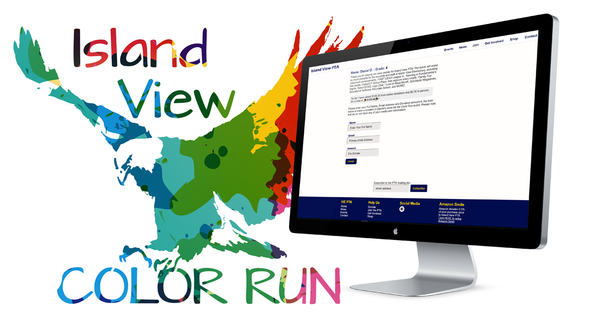 Image for Color Run Online Donations are better than ever!